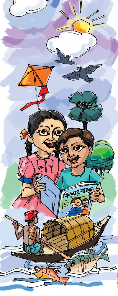 illustration-for-kishore-bangl-(children-magazine)