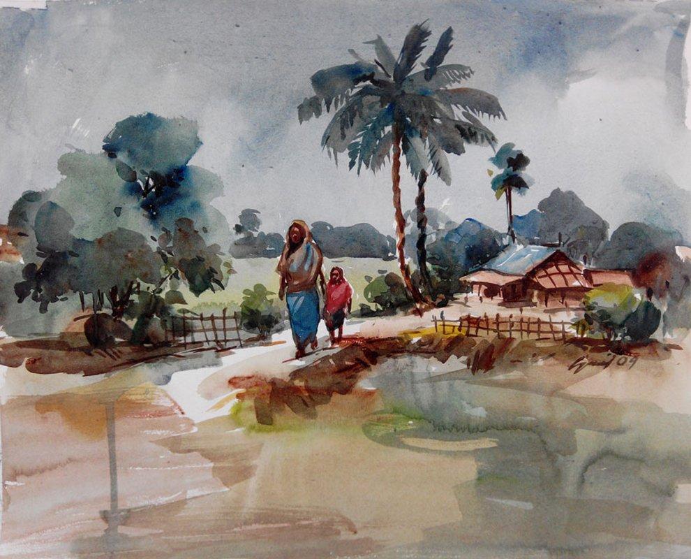 Way to Village